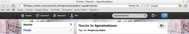 Trending now: #GovShutdown